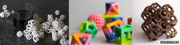 3D Printed Geometric Sweets