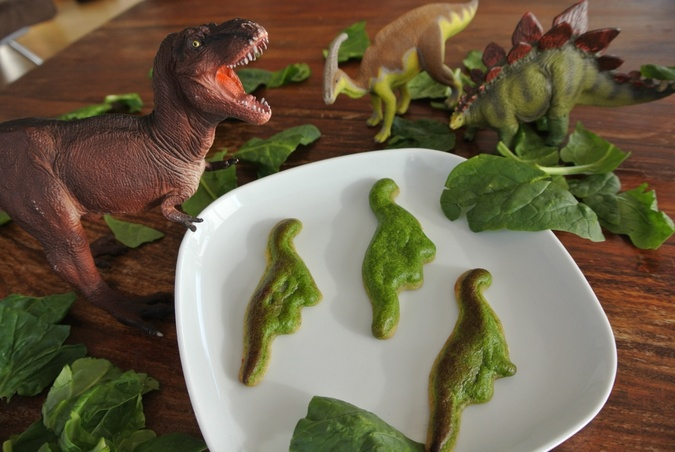 3D Printed Dinosaur Quiche