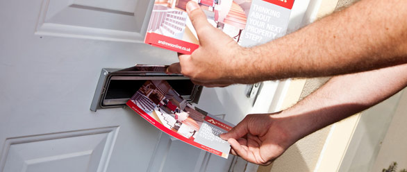 Bag yourself a new landlord or two for Door 2 door leaflets