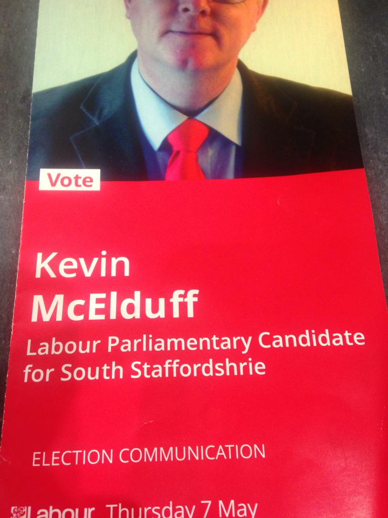What not to do on campaign leaflets part 2