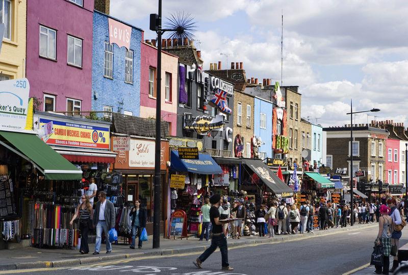 Camden Town, London, Großbritannien, England, Vereinigtes Königreich