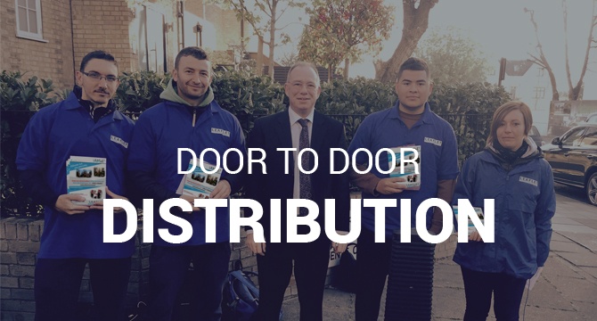 Leaflet distribution